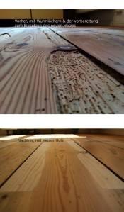 Boden / Holz-Entasien